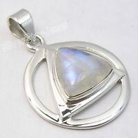 SilverStarJewel Natural Amethyst tcw 0.4 OM Necklace Pendant 1.4 925 Sterling Silver