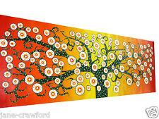 aboriginal tree of life art painting  australian artist COA By Jane authentic