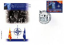 Republic of North Macedonia/2019/FDC/The 70th Anniversary of foundation of NATO