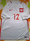 Poland 2016 SIGNED Robert Lewandowski football shirt jersey trikot maglia