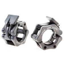 Lock-Jaw Elite Barbell Collar - Silver