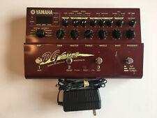 Yamaha DG Stomp Guitar Multi-Effects Preamp Processor Pedal + Power Supply