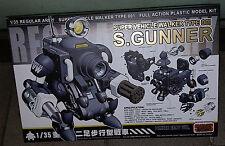 Metal Slug 1/35 Super Vehicle Walker Type 001 S.Gunner Model Kits Panzer Gray Ve