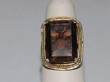 14K Gold ring with Large Gemstone