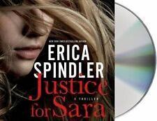 Justice for Sara by Erica Spindler (2013, CD, Unabridged)