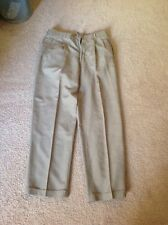 Mens Cezani Khaki Dress Pants Slacks - Size 32/30