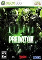 Aliens Vs Predator - Original Microsoft Xbox 360 Game