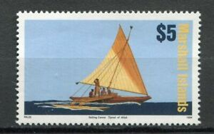 s2025) MARSHALL ISL. 1994 MNH**  Definitive, boat 1v $5
