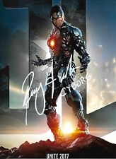 Ray Fisher HAND signed Autographed photo w/COA RARE Justice League