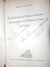 TRA IL DECLINO DEL RINASCIMENTO E IL MERIGGIO DELL ILLUMINISMO IN ITALIA libro