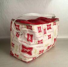 5 VINTAGE Miller High Life Beer Plastic Icing Cans Bag 1954 NOS Ice Cooler
