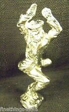 STERLING SILVER DANCER SCULPTURE STATUE BUST - DO VIEW ALL OUR ANTIQUE LISTINGS