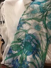 Gucci bloom headband silk floral scarf with box