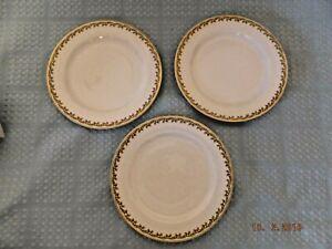 Haviland Limoges Set of Three Salad Luncheon Plates