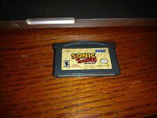 Sonic the hedgehog (Nintendo Game Boy Advance, 2004) GBA