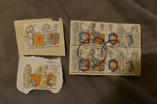 5 Coats of Arms UK British commemorative postage stamps philatelic postal
