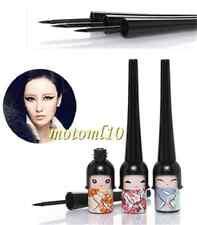 2X Lucky Doll Black Waterproof Eyeliner Liquid Pen Makeup  Funky Makeup Tool Mo