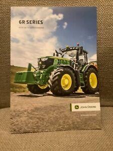 John Deere 6R Series Tractors Now With Commandpro Brochure Leaflet Jan 2020