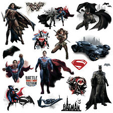 BATMAN V SUPERMAN INJUSTICE 18 New WALL DECALS Wonder Woman Stickers Room Decor