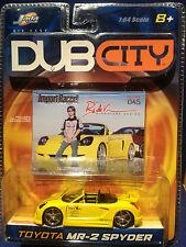 Jada Toys DUB CITY Toyota MR-2 Spyder 1:64 Mega Optik Sammlerstück