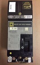 Square D FA24020AC Circuit Breaker 20 Amps 2 Pole 480 Volt
