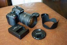 Nikon D5100 DSLR with Nikon Nikkor AF-S 18-200mm 1:3.5-5.6 G ED VR DX lens