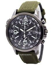 Seiko Prospex Solar Military Alarm Chronograph SSC295P1 SSC295P Men's Watch
