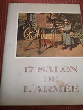CATALOGUE 17eme SALON DE L'ARMÉE 1966 ( ref 47 )