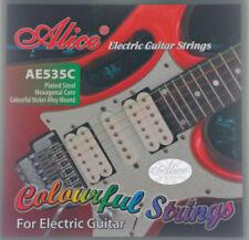 Cuerdas Alice para guitarras y bajos