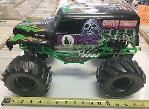 """1:10 GRAVE DIGGER NEW BRIGHT 15"""" RC Crawler Monster Truck 4x4 part huge jam toy"""