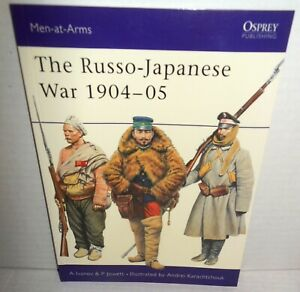 BOOK Osprey Men-at-Arms MAA # 414 The Russo-Japanese War 1904-05 2004 1st Ed op