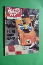 AUTOSPRINT 44/1970 SALONE DI TORINO FERRARI 312 P GP MESSICO 6 ORE DEL JARAMA
