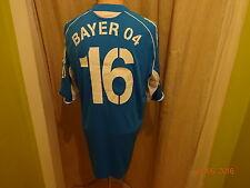 Bayer 04 Leverkusen Adidas Formotion Maglia Matchworn 2005/06 + N. 16 Taglia L