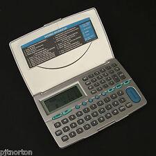 Electronic Organiser PDA data bank multi lungual memo alarm converter DB-1410