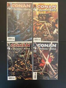 Conan and the Demons of Khitai 1-4 High Grade Dark Horse Lot Set Run D25-75