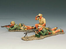 Painted Lead German 2-5 King & Country Toy Soldiers