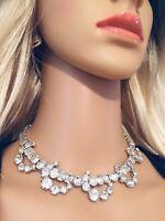Vintage Eisenberg Signed Rhinestone Necklace