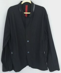 Lululemon Mens Trail Blazer Jacket Coat, Black, XL
