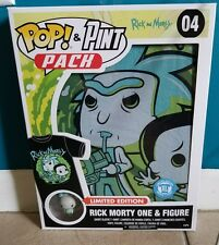 rick morty one & figure limited edition pop & pint pack XL funko