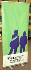 PREZCOBIX DISPLAY BANNER STAND, PROMO NEW - OVERSTOCK CLEARANCE