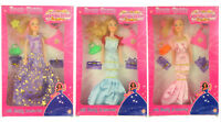 Girls  Princess Prom  Queen Figure Doll &  beauty Accessories boxed gift