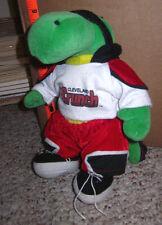 CLEVELAND CRUNCH soccer plush doll Kickster alligator MSL Force 1990s logo Ohio