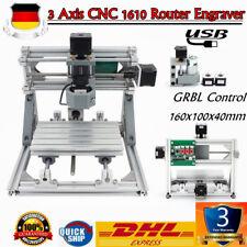 3 ASSI CNC 1610 Fresatrice di ingegneria Macchina per incidere ROUTER RGBL DE