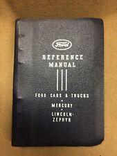 Original 1939 Ford Lincoln Mercury Truck Dealer Salesman Reference Manual
