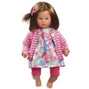 "Käthe Kruse Puppe "" Mini Bambina Lea  ""  33 cm - unbespielt - NEU !!"