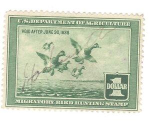 Scott RW 4 Federal Duck Stamp