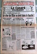 Le Canard Enchainé 3/9/2003; Trou de la Sécu, Mattéi cache les vrais chiffres