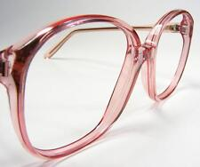 1980's Vtg Women's Lilac Pink Zyl Large 54 Plastic Usa Made Eyeglass  00006000 Frame New
