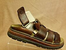 Timberland Women's Brown Flats Strappy Sandals Sport Walking Shoes Size 8 M