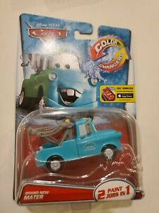 Disney Cars Mater Color Changers New in box 2014 rare sealed